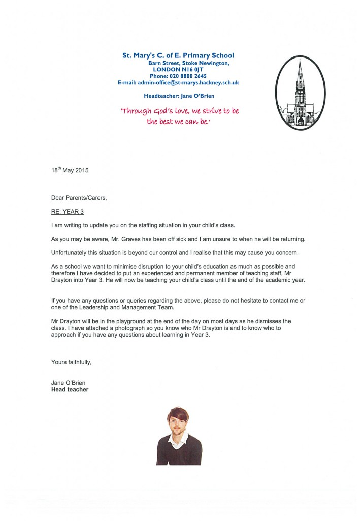 Year 3 Letter 19.05.15